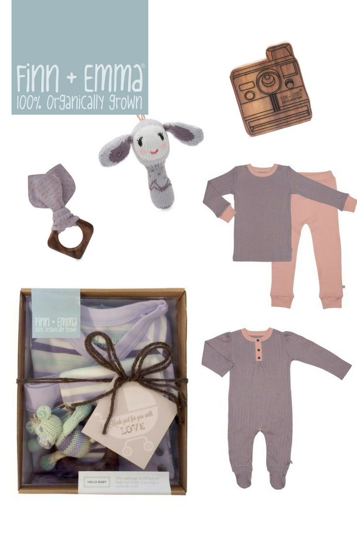 Finn + Emma Organic Baby Toys and Clothing