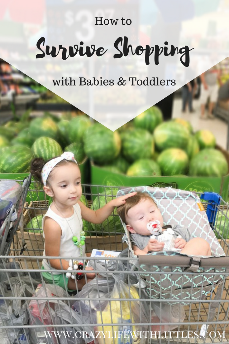 Tips & Tricks to Surviving Shopping with Babies & Toddlers