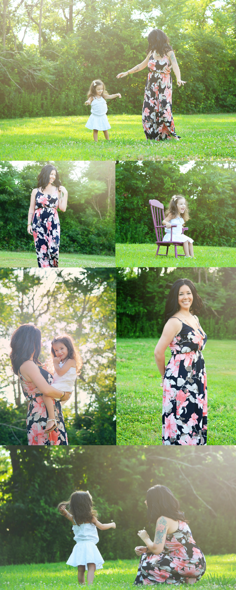 Mother Daughter Photography | Dress by PinkBlush Boutique