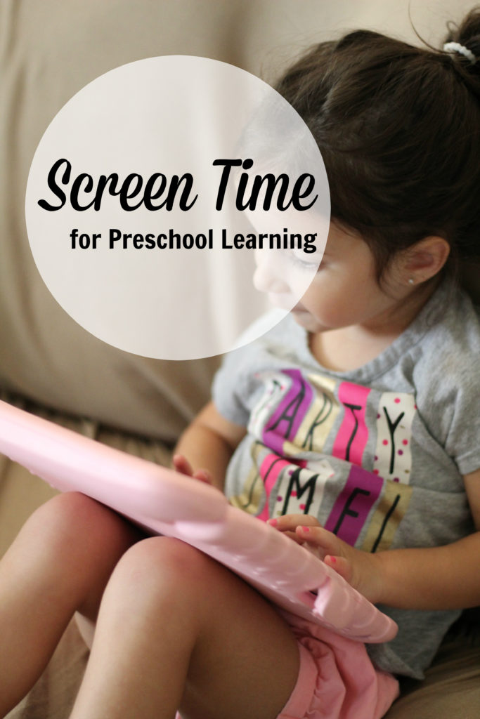 Allowing Screen Time for Preschool Learning - KidloLand Educational App