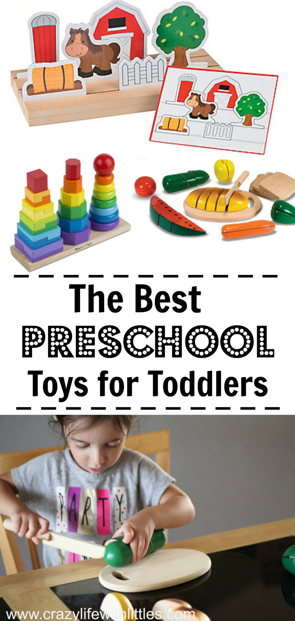The Best Preschool Toys for Toddlers by Oriental Trading, preschool activities for 3 year olds, preschool activities at home, learning activities for preschoolers, toddler preschool activities
