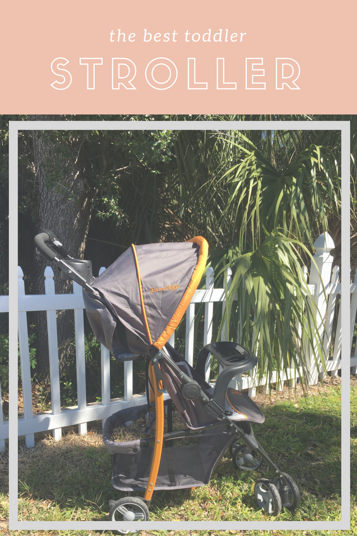 The Best Toddler Stroller // J is for Jeep Brand Metro