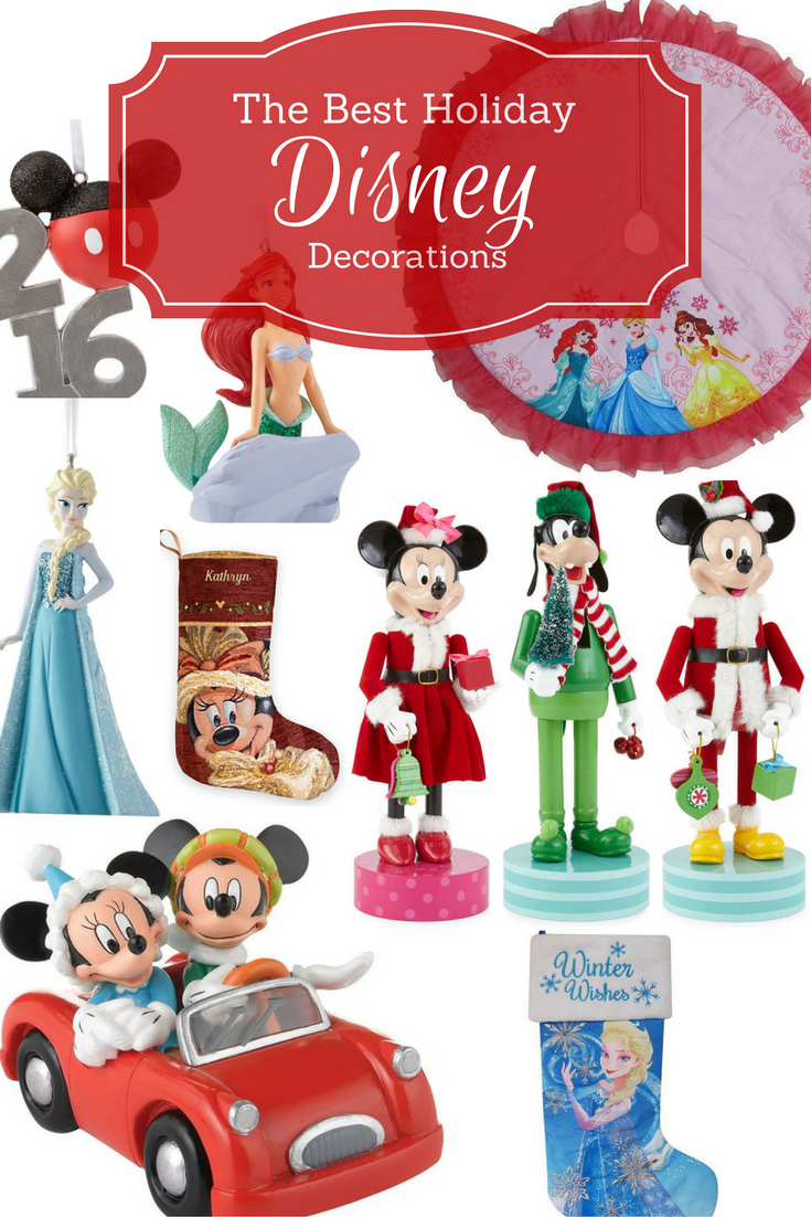 The Best Disney Christmas Decorations