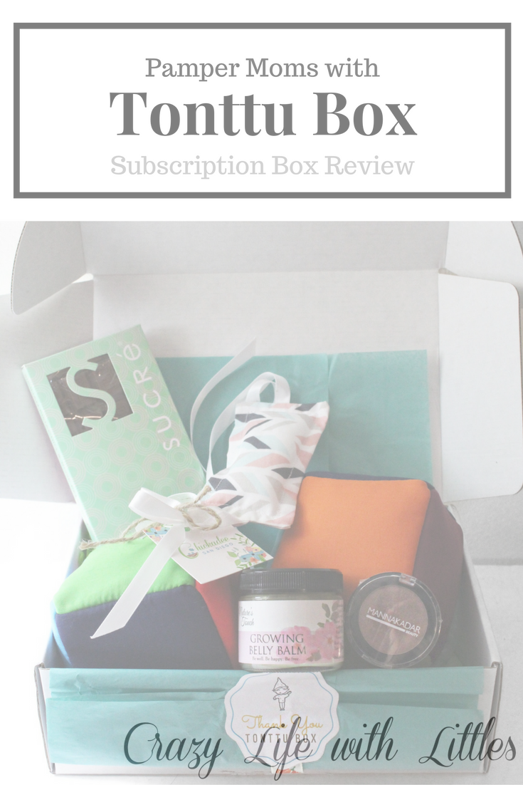 Pamper Moms with a Tonttu Box: Subscription Box Review