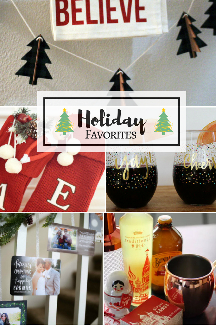 This week's Friday Favorites rounds up my favorite christmas card display, holiday drinks and sangria, and holiday bathroom decor.