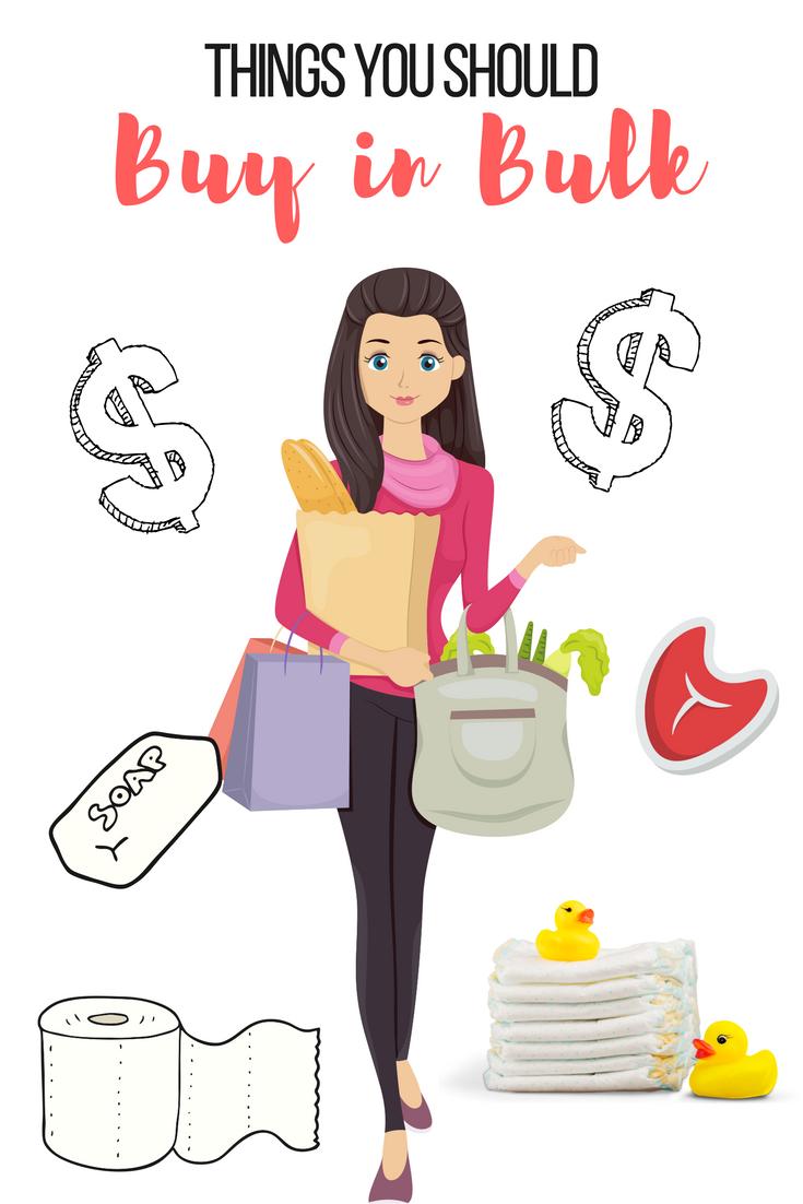 Top Items to Buy in Bulk