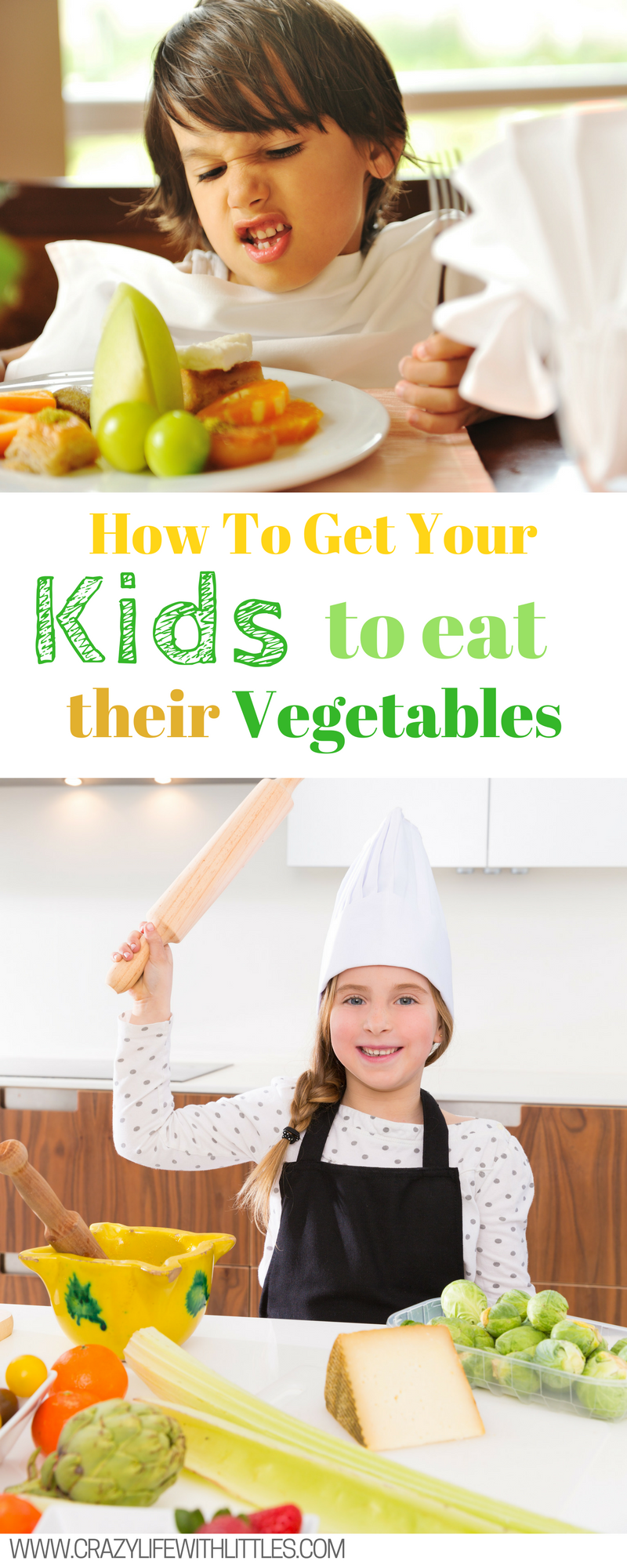 How to get your kids to eat their vegetables, Picky Eaters, Kids Eating Tips, Kids Veggies, Children Eating Tips, Vegetable Ideas #ad #HookedonVeggies https://ooh.li/1c2cf64 For more info visit www.crazylifewithlittles.com