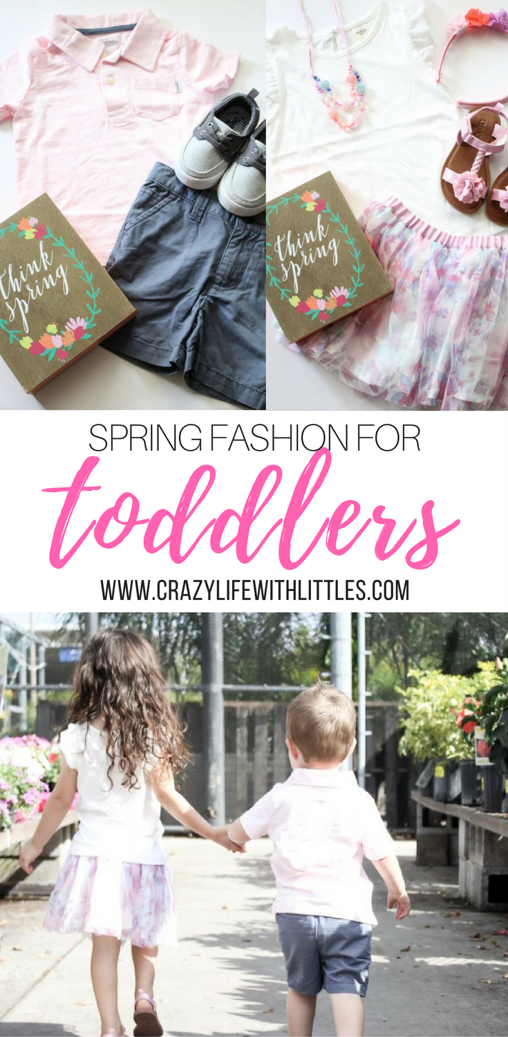 Spring Fashion for Babies and Kids from OshKosh B'gosh. Save 25% off $40 + purchases with code OKBG3270. #ad #oshkoshkids #fieldsoffun