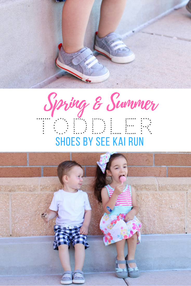 Spring/Summer Toddler Shoes from See Kai Run. Toddler Spring Fashions