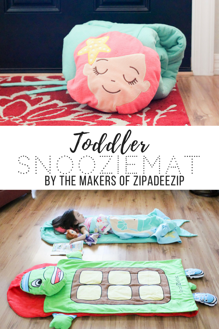 SnooZieMat, Toddler Nap Mat by Sleeping Baby. Perfect for sleepovers, naptime, daycare, and lounging at home.
