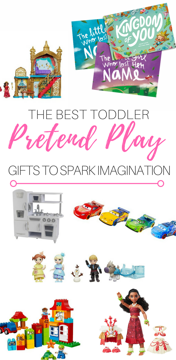 The Best Toddler Pretend Play Gifts to Spark Imagination, imaginative play toys for preschoolers, pretend play toys for 3 year olds, montessori toys, imagination toys for toddlers