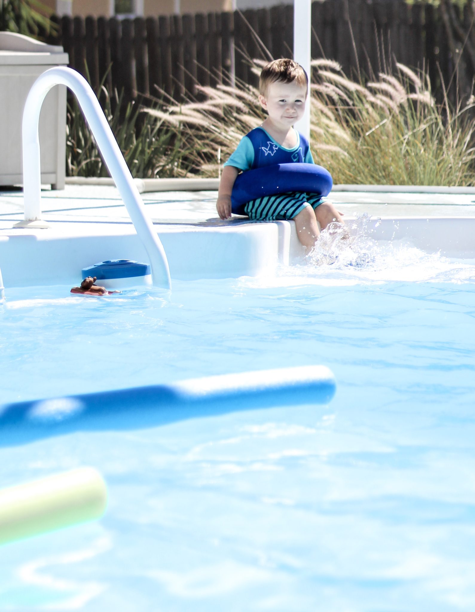 Teaching babies and toddlers to swim, SwimWays Step 2 Swim Sweater, baby water safety