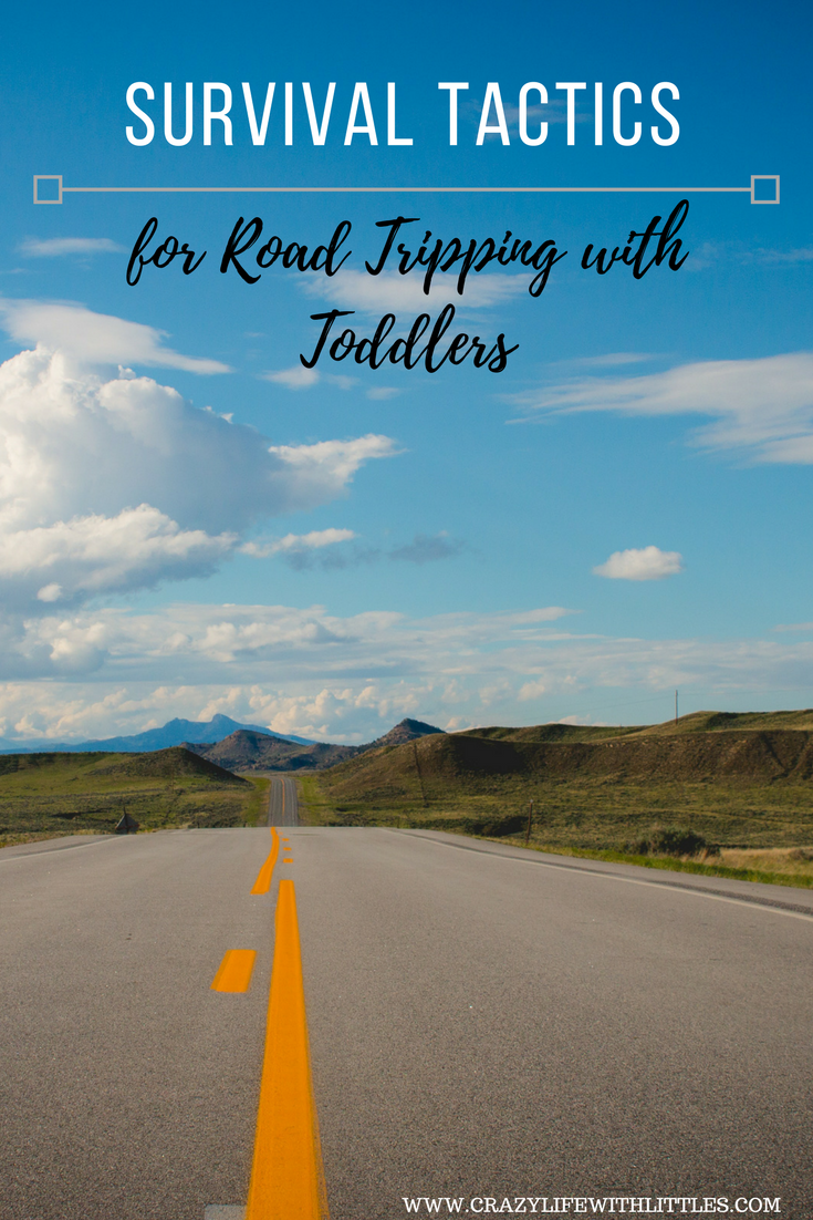 Survival Tactics for Going on a Road Trip with Toddlers, long road trips with toddlers, toddler road trip activities, road trip with one year old, road trip with toddler checklist, road trip with 2 year old, toddler road trip toys, toddler road trip essentials, long road trip with baby