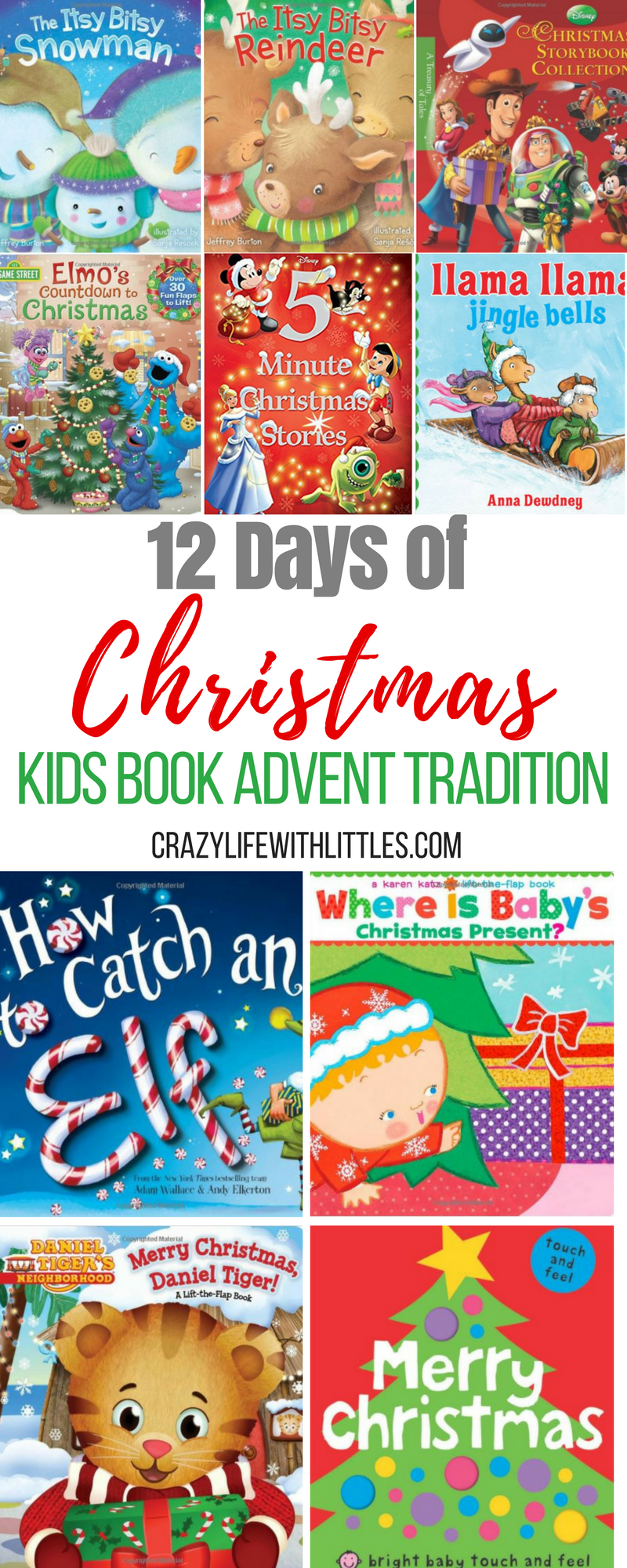 classic christmas books, best christmas picture books, christmas books for babies, 12 days of christmas