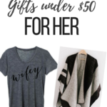 HOLIDAY GIFTS FOR HER UNDER $50