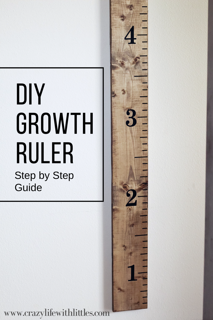 Diy Growth Ruler Tampa Lifestyle And Mom Blogger