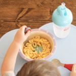 Mealtime with Nuby and a Hidden Veggie Macaroni & Cheese