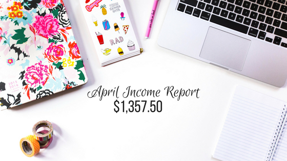 Blog Income Report – April 2017