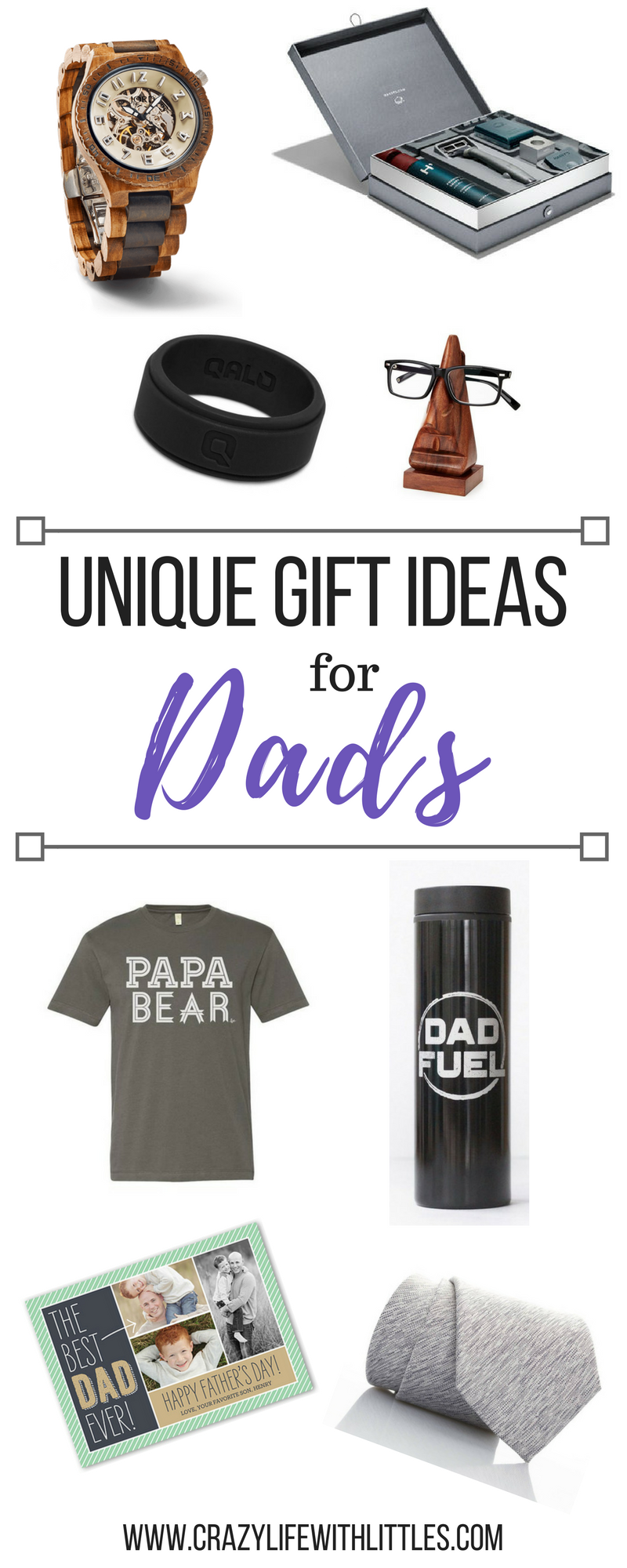 #giftsforDad #giftsformen Unique Father's Day Gifts, father's day gifts from kids, gifts for him, father's day gift ideas, gift ideas for men, gift ideas for men who have everything, gift ideas for dad