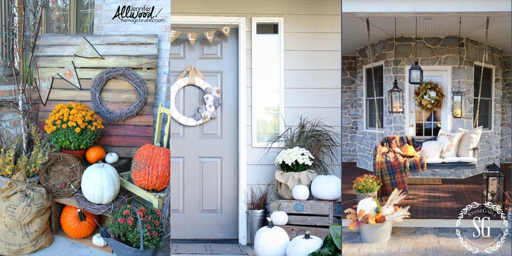 15 WAYS TO HAVE THE PRETTIEST FALL PORCH ON THE BLOCK