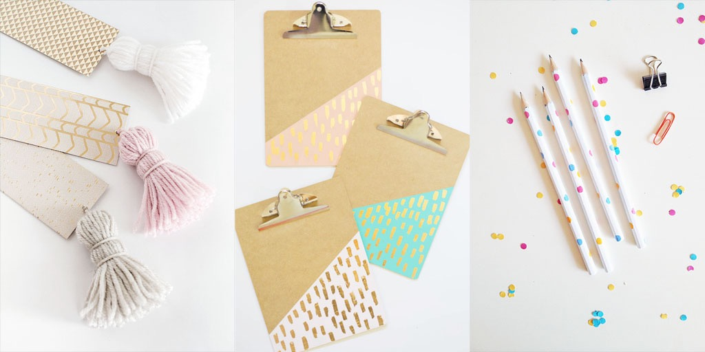 16 CHIC BACK TO SCHOOL DIY PROJECTS