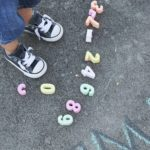 LEARNING THROUGH PLAY WITH SIDEWALK CHALK