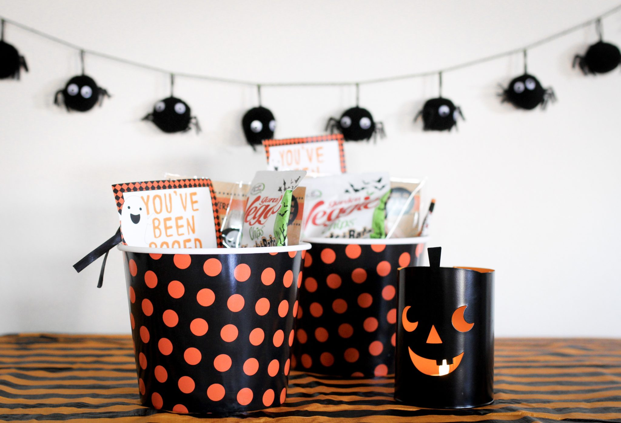 DIY HALLOWEEN BOO BASKETS