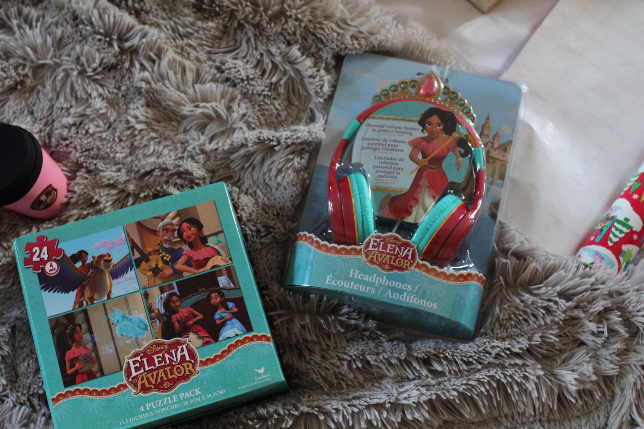 Disney Princess, Elena of Avalor, Disney headphones, Disney puzzles