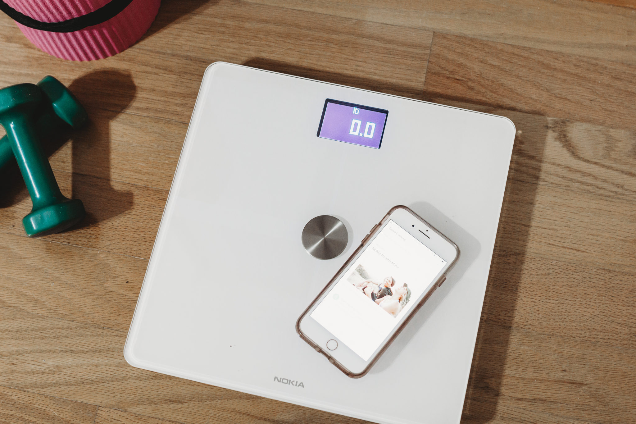 How to create better fitness goals and healthier choices with Nokia Body+ wifi scale #ad #NewYearNewYou #KnowYourself