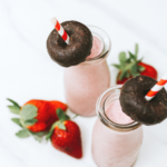 KID-APPROVED STRAWBERRIES & CREAM MILKSHAKE