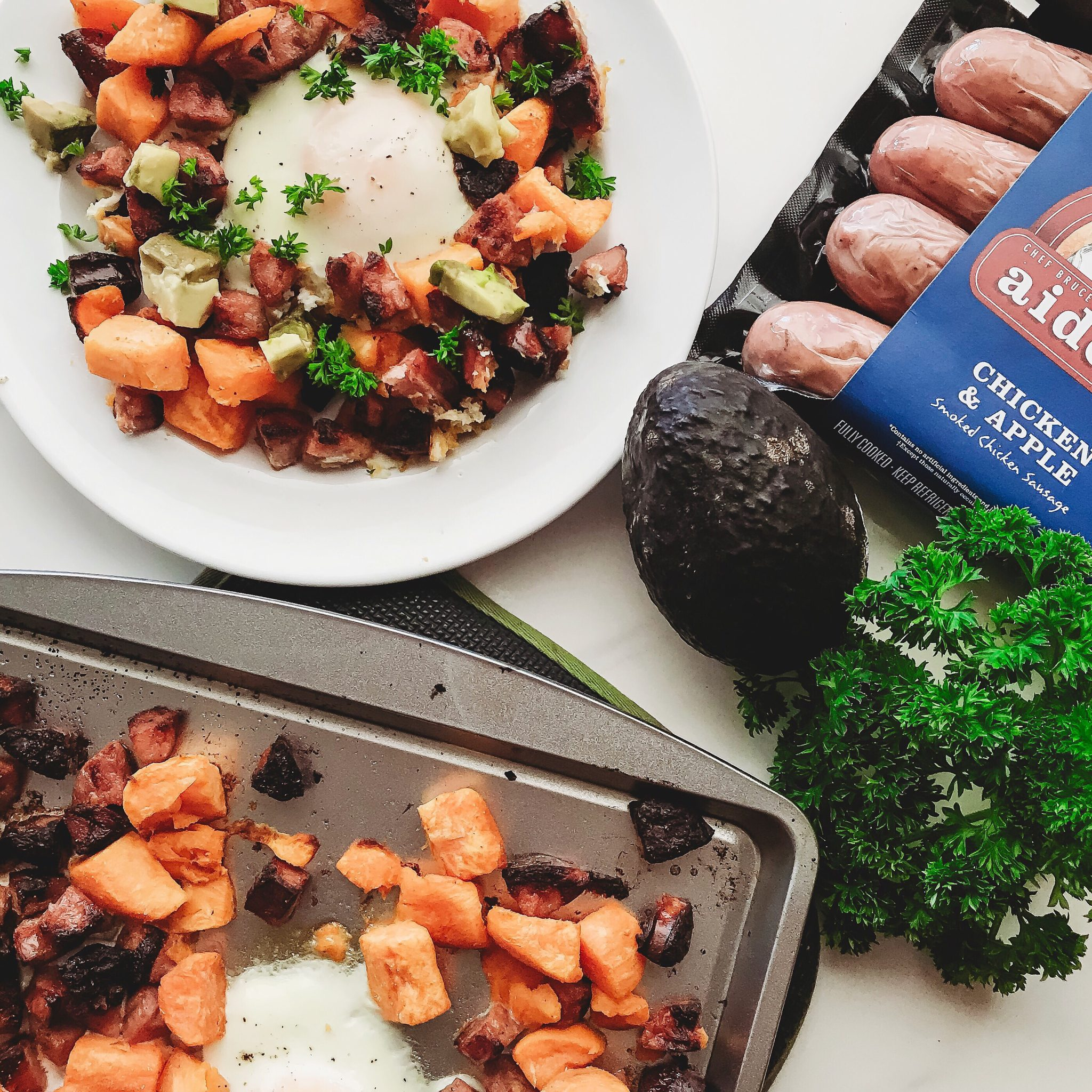 Easy Weeknight dinners for the family, Sweet Potato Hash with Eggs, Family Friendly dinner in under 30 minutes, Healthy family dinners
