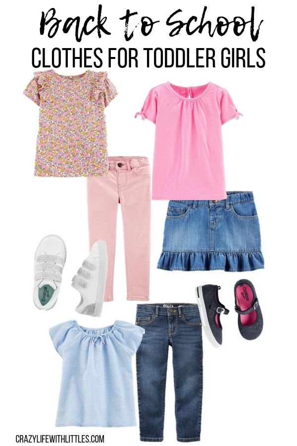 toddler girl back to school wardrobe