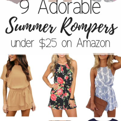 9 SUMMER ROMPERS UNDER $25 ON AMAZON PRIME