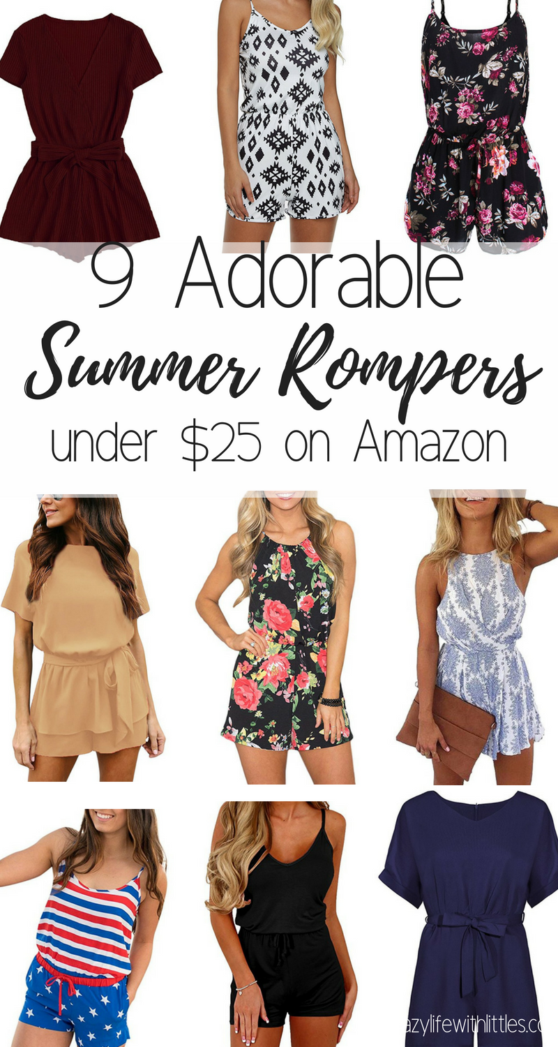 summer trends for women, summer rompers, womens rompers, summer fashion for moms