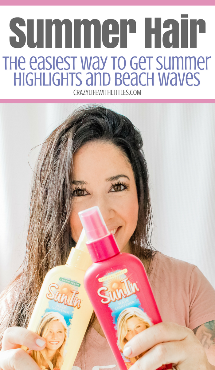 #SunInFunIn #ad #PowerPrimper #SunIn How to Get Summer Highlights at Home, Easy No Heat Summer Beach Waves