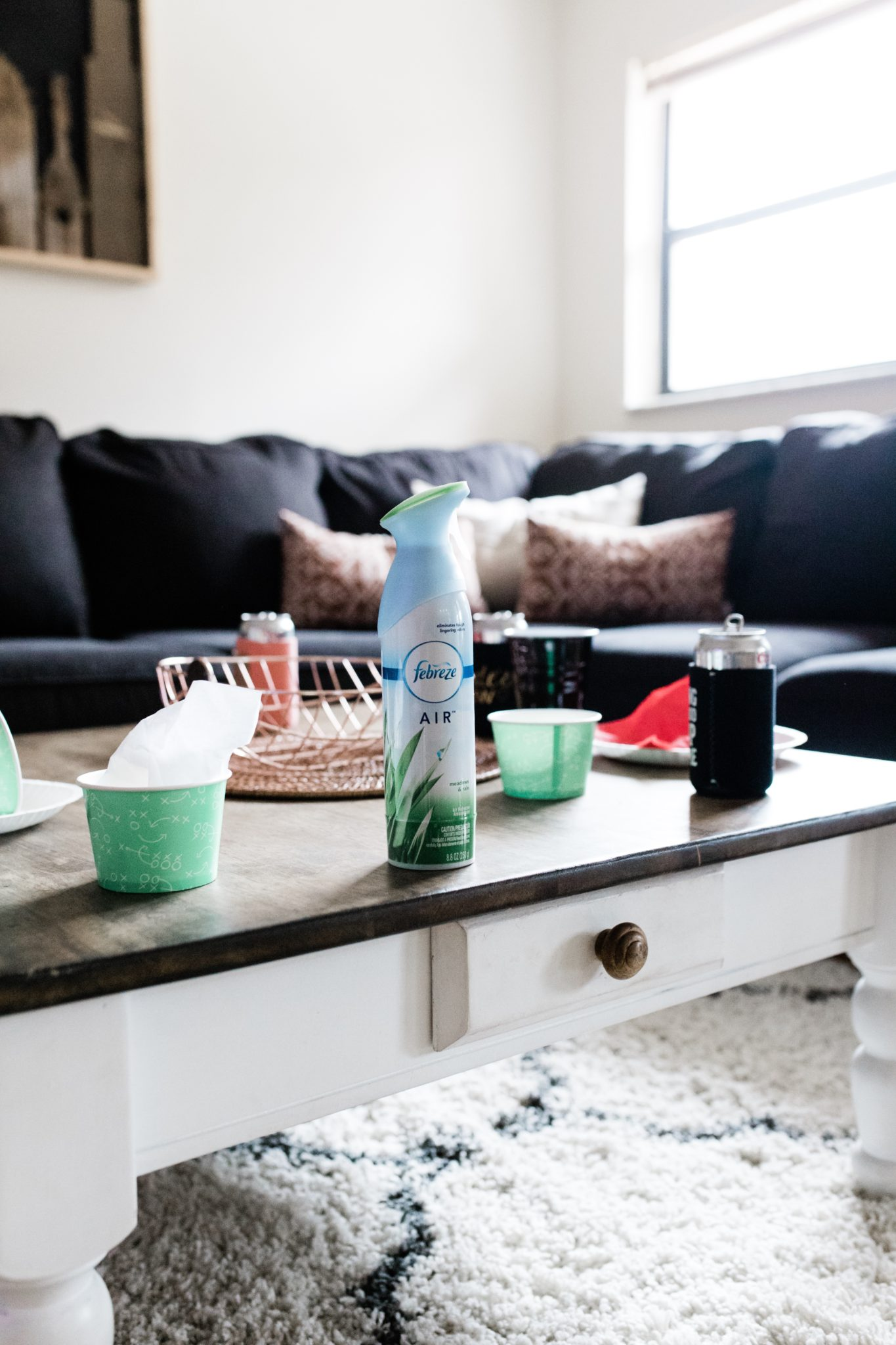 Mom Hacks for Hosting a Successful Super Bowl Party using Febreze AIR #ad #PartyPrepwithFebreze