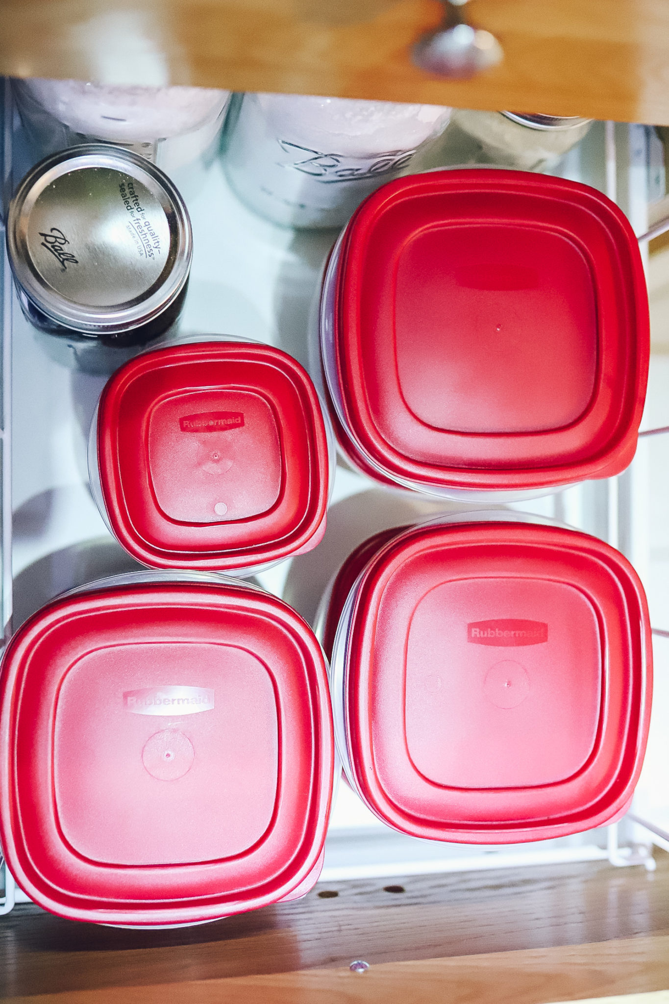 How to Organize your Kitchen Cabinets with Rubbermaid® Easy Find Lids™ and Enter to Win a Pantry Makeover valued at $5,000! - Lifestyle and Mom Blog, Crazy Life with Littles @rubbermaid #easyfindwin #rubbermaid