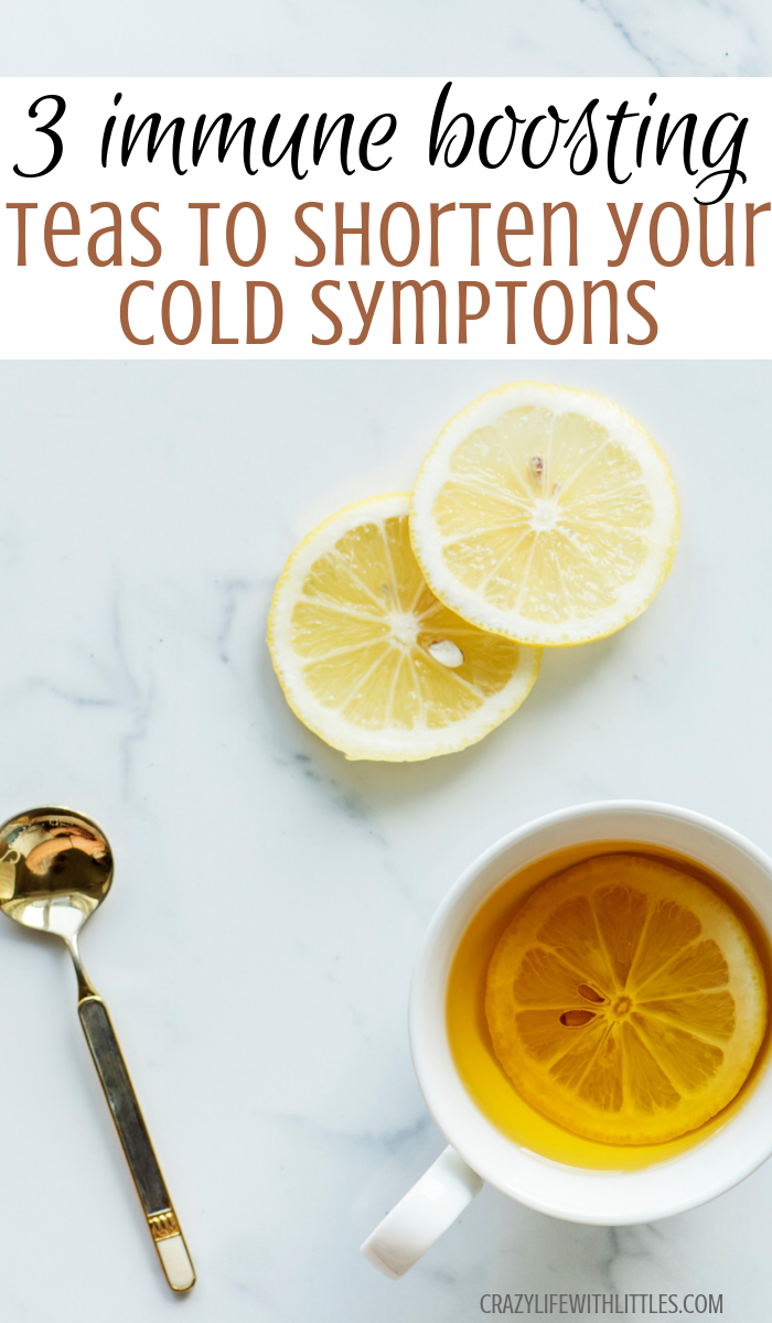 3 Immune Boosting Teas for Cold & Flu Season - Tampa Lifestyle and Mom Blogger, Crazy Life with Littles