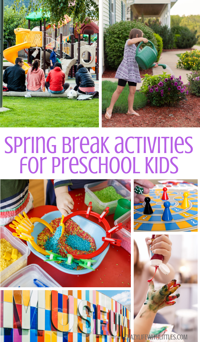 Spring Break Activities for Preschoolers - Tampa Lifestyle and Mom Blogger, Crazy Life with Littles