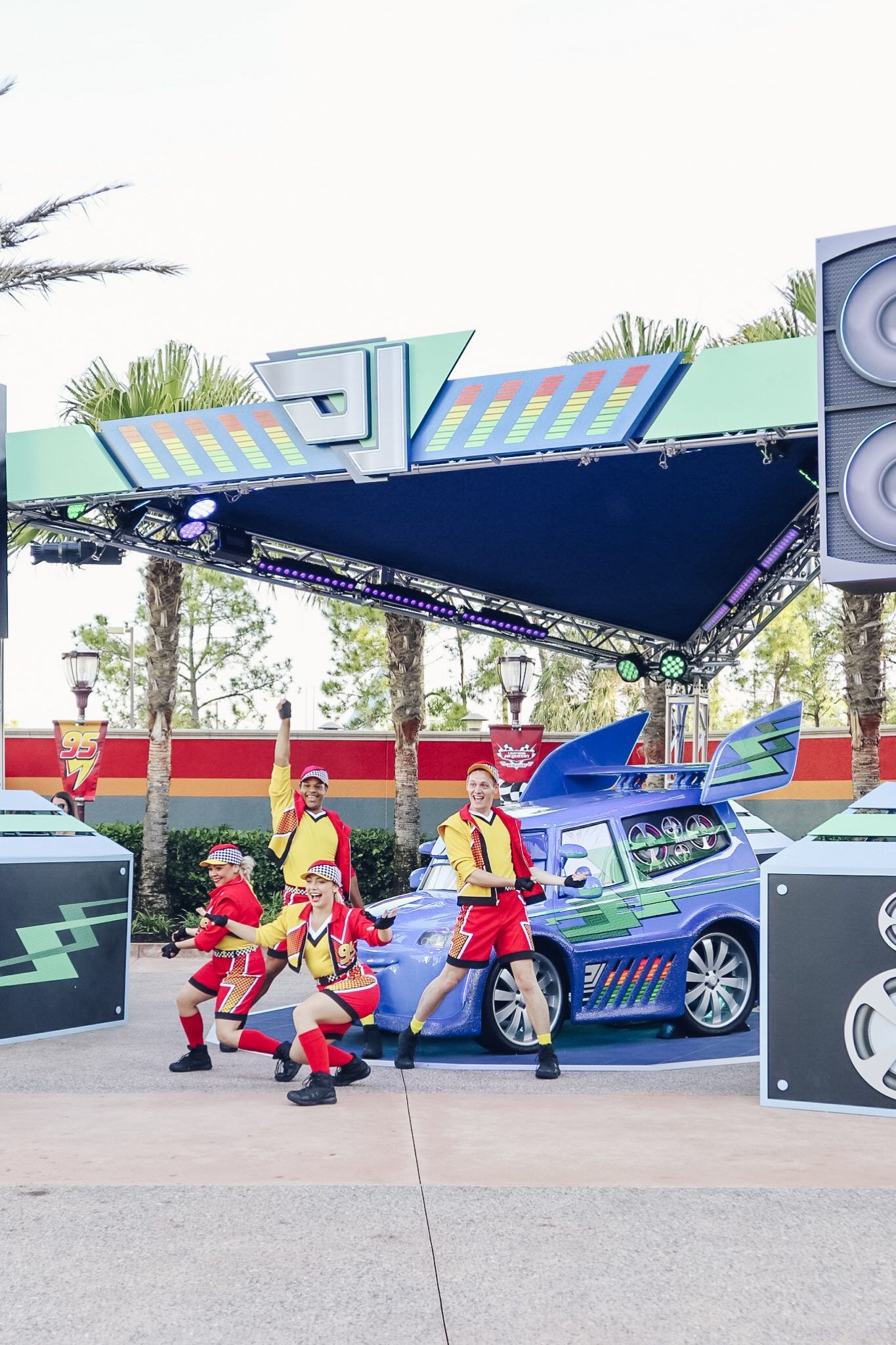 WHAT TO EXPECT AT DISNEY'S LIGHTNING MCQUEEN RACING ACADEMY IN HOLLYWOOD STUDIOS by Tampa Lifestyle and Travel blog Crazy Life with Littles