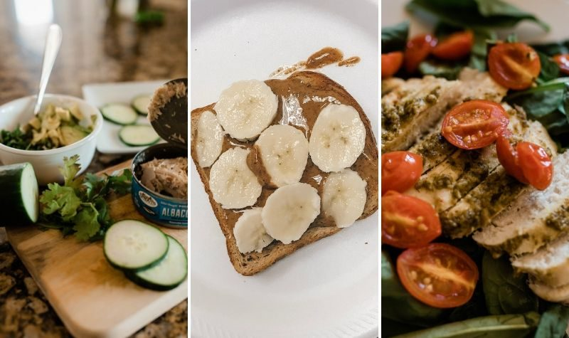 What I eat on a low macro day during FASTer Way to Fat Loss, the intermittent fasting and carb cycling lifestyle - Tampa Lifestyle and Mom Blogger, Crazy Life with Littles