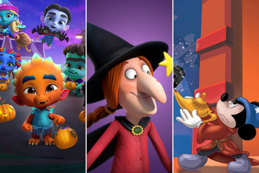 Little Kid Halloween Movies on Netflix Right Now #netflix #toddlershows #HalloweenMovies #Halloween