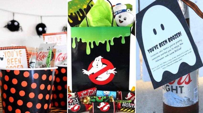 Halloween Boo Baskets, Boo your neighbor, Halloween traditions for friends and neighbors #halloween #boobasket
