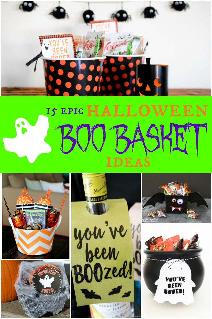 Halloween Boo Baskets, Boo your neighbor, Halloween traditions for friends and neighbors #halloween #boobasket