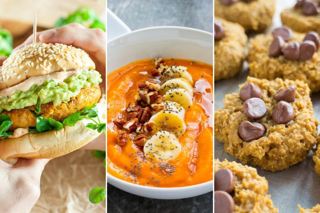Healthy Pumpkin Recipes, #pumpkin #fallrecipes #pumpkinrecipes #healthy #smoothiebowl #soup #quiche, low carb recipes for fall, pumpkin hummus, pumpkin energy balls,