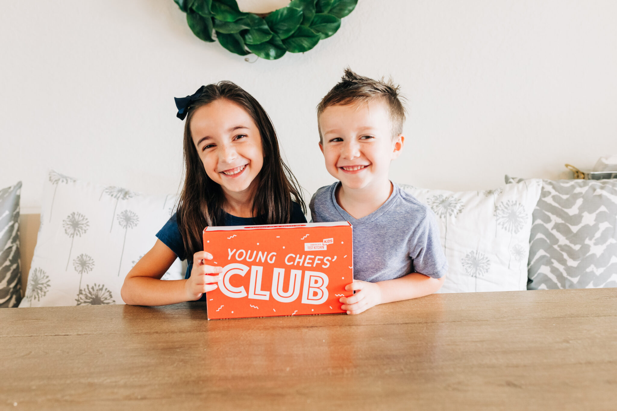 Young Chefs' Club, kids subscription box, STEAM activities for first graders and up, cooking with kids, kid tested recipes