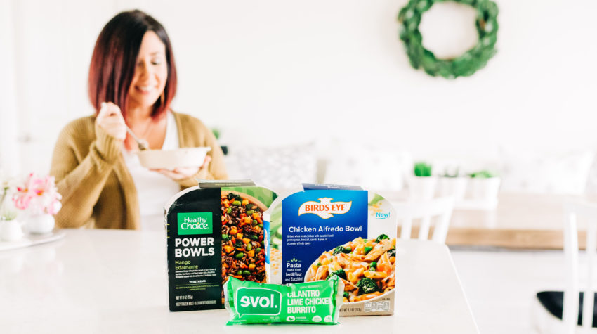 #quickdinner #easymeals #weeknightdinner Sharing 3 quick and easy frozen meals that are done in minutes. Tampa Lifestyle and Working Mom Blogger, Crazy Life with Littles