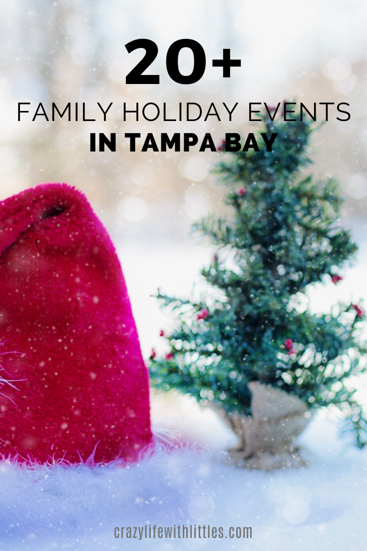 20+ Family Holiday Events and Activities in the Tampa Bay Area 2019, #Tampa #Holiday #christmas