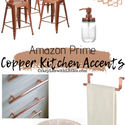 #farmhouse #kitchendecor #copper Amazon Prime Copper Kitchen Accents