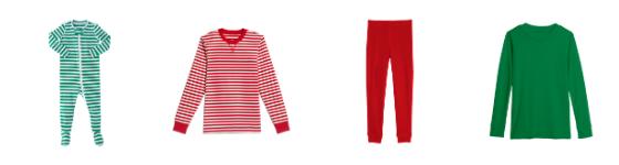 Primary.com family matching pajamas for the holidays